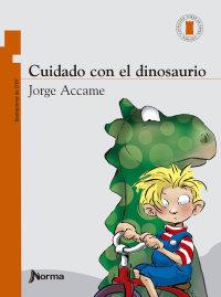 Portada Cuidado con el dinosaurio