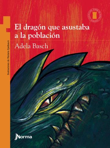 Portada El dragón que asustaba a la población