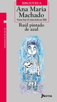 Portada Raúl pintado de azul