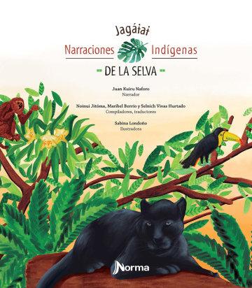 Portada Narraciones indígenas de la selva