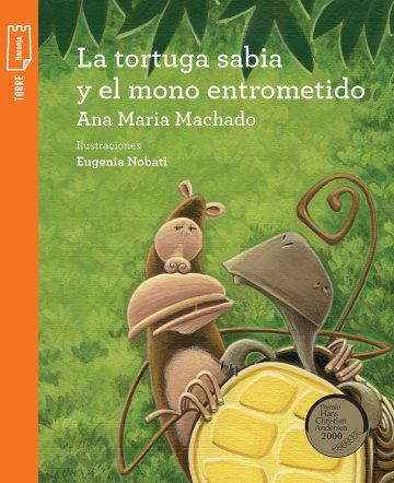 Portada La tortuga sabia y el mono entrometido