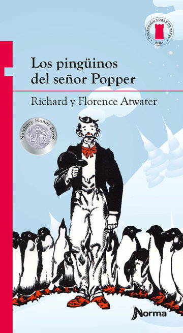 Portada Los pingúinos del señor Popper