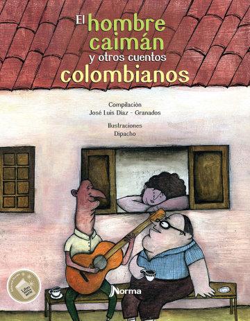 Portada El hombre caimán y otros cuentos colombianos