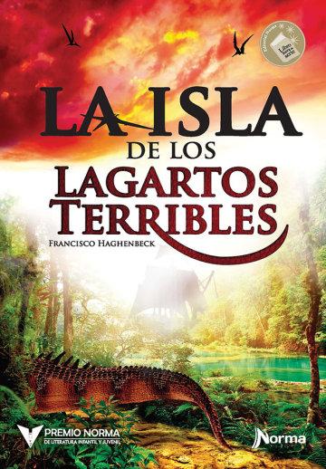 Portada La isla de los lagartos terribles
