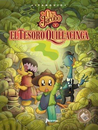 Portada El Cuy Jacobo y el Tesoro de Quillacinga