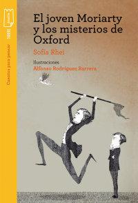 Portada El joven Moriarty y los misterios de Oxford