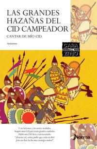 Portada Las grandes hazañas del Cid campeador. Cantar de Mio Cid