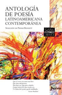 Portada Antología de poesía latinoamericana
