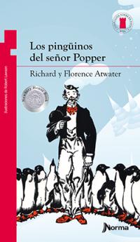 Portada Los pingüinos del señor Popper
