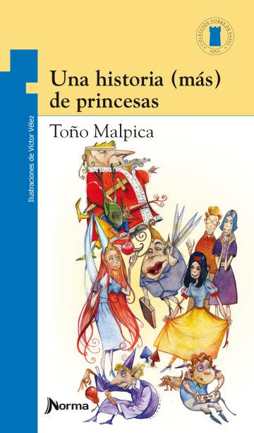 Portada Una historia (más) de princesas