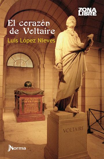 Portada El corazón de Voltaire