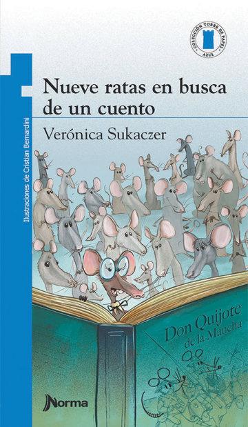 Portada Nueve ratas en busca de un cuento