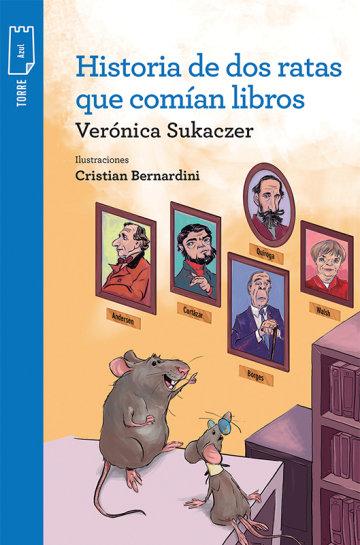 Portada Historia de dos ratas que comían libros