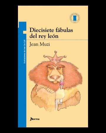 Portada Diecisiete fábulas del rey león