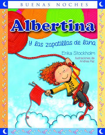 Portada Albertina y las zapatillas de lana