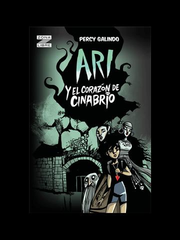 Portada Ari y el corazón de cinabrio (E-book)