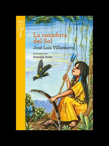 Portada La cazadora del Sol (E-book)