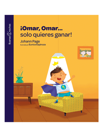 Portada ¡Omar, Omar... solo quieres ganar! (E-book)