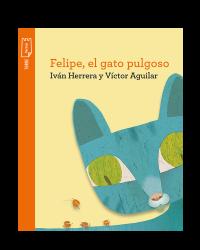 Portada Felipe, el gato pulgoso